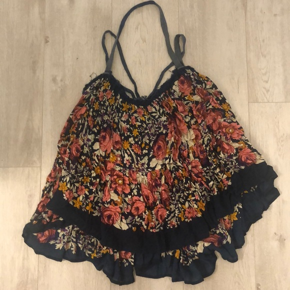 Beautiful, floral, flowy, FP One top